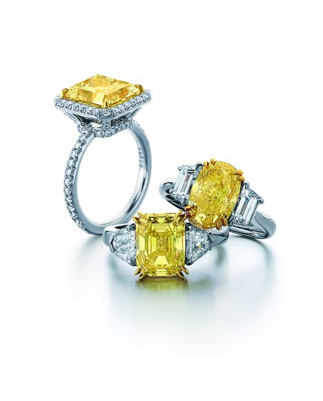 SCL Trio Canary Rings