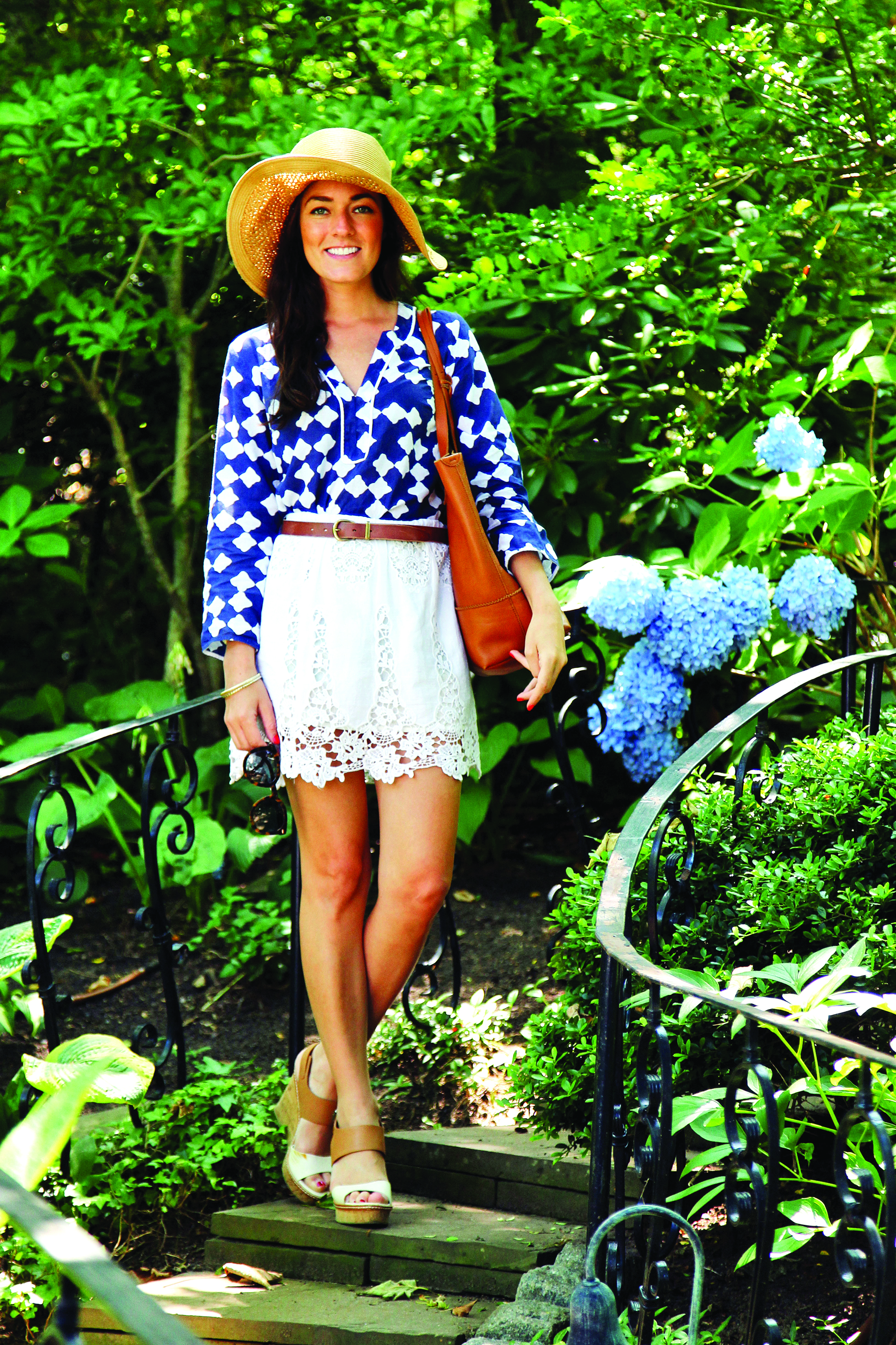A fashionista in her own right, Vickers (@sarahkjp) has over 400,000 Instagram followers.
