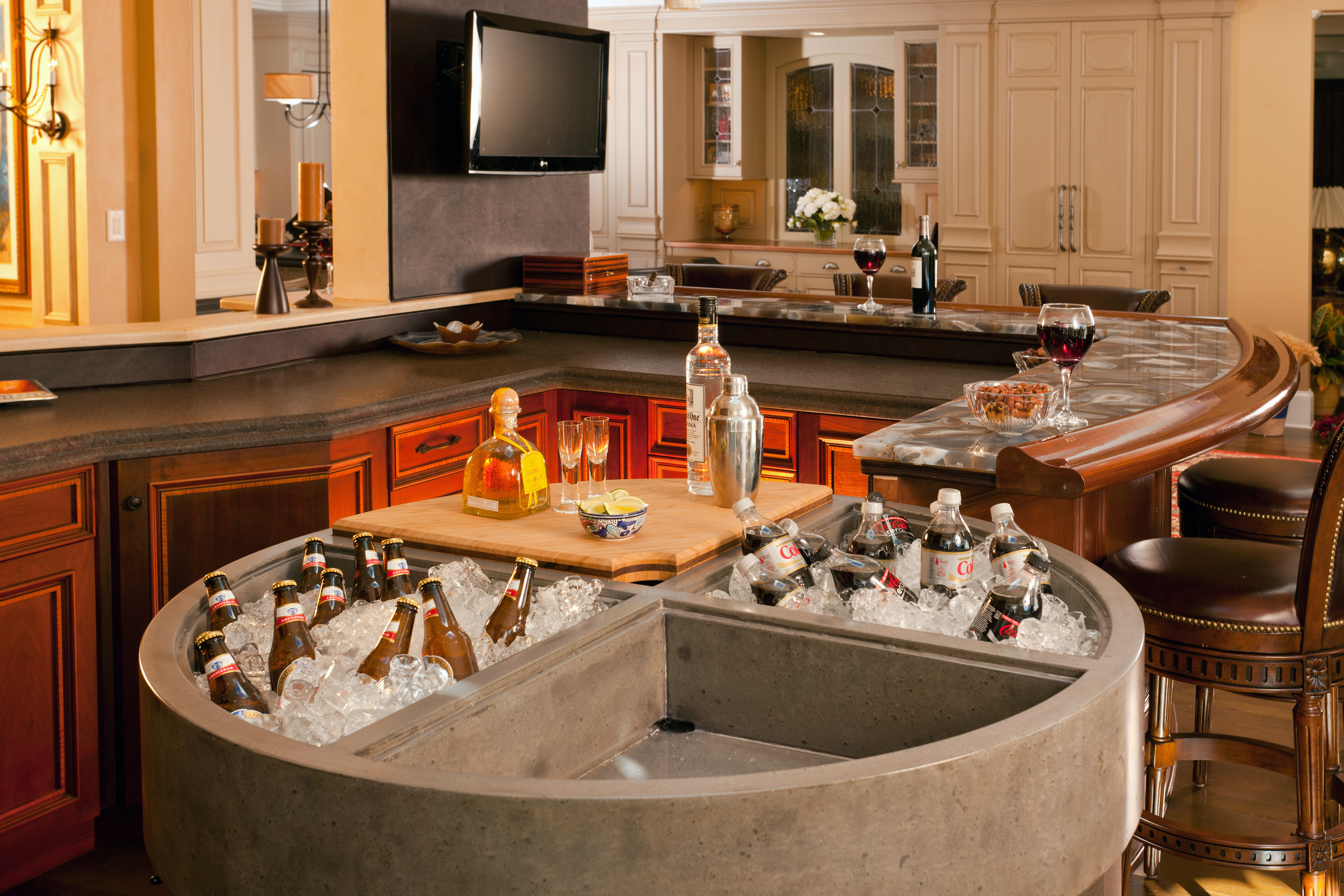 Full Bar Custom sink-6491