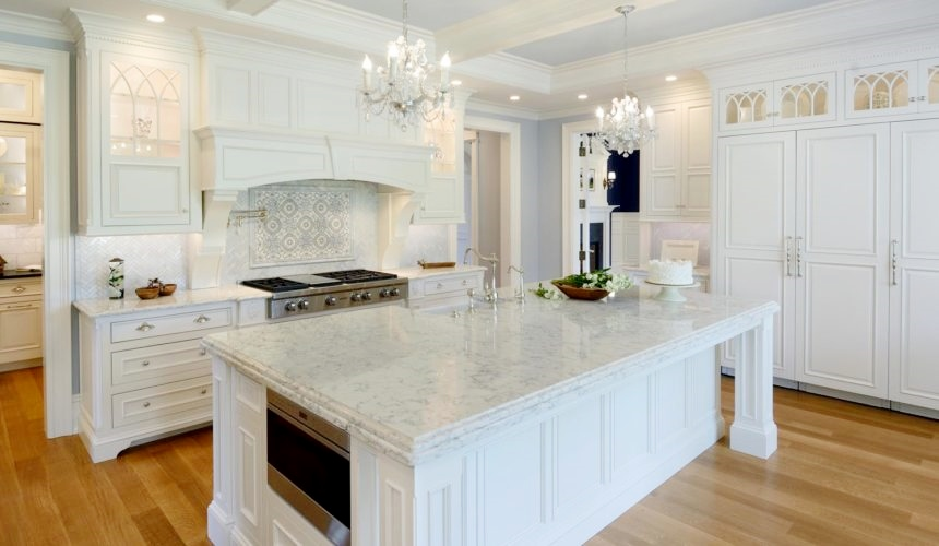 white-on-white kitchen