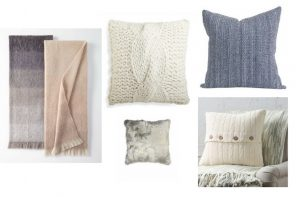 Layer on Lush Throws & Pillows for Fall