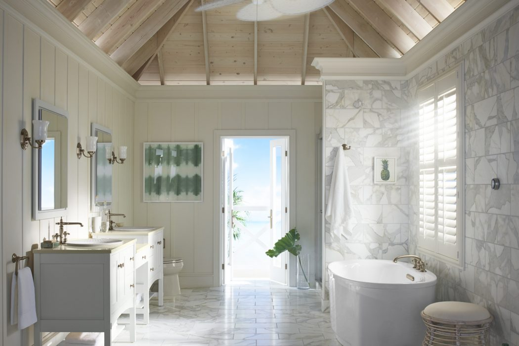 The White on White Bathroom: 3 ways to get inspired | New England Living