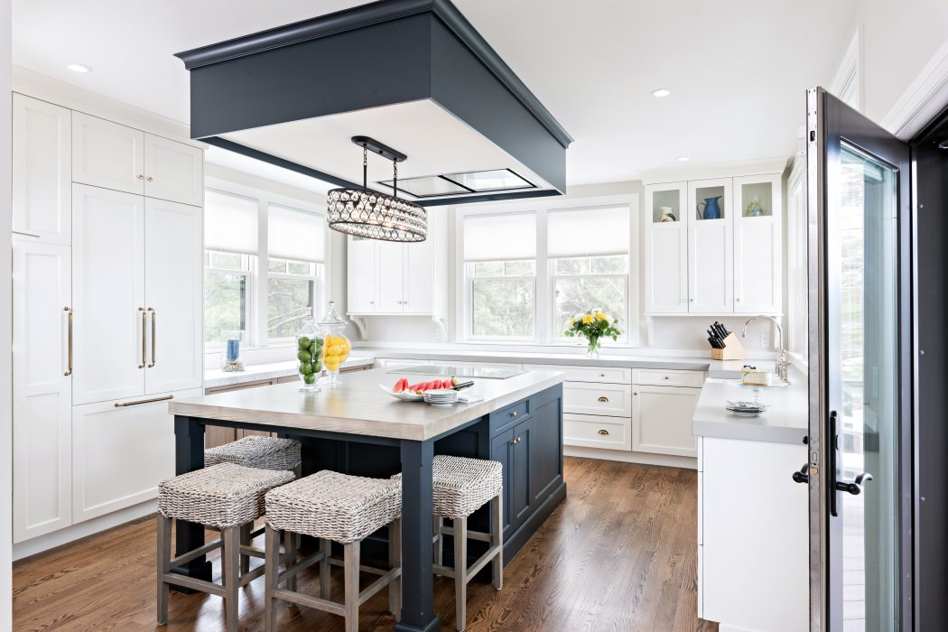 A Splash Of Color In The Kitchen New England Living