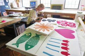 Patterns of Life: Maine Textile Designer Erin Flett