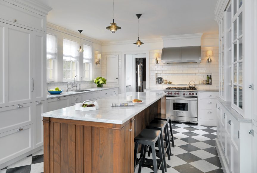 Boston Design Guide, Winchester res.  Kochman kitchen