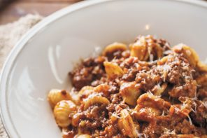 Orecchiette Bolognese by Chef Matt Jennings