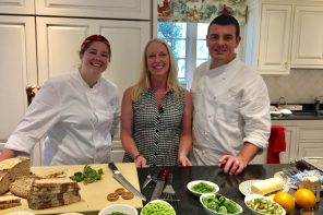 New England Living TV: Cooking with Chef Frederic Kieffer in Greenwich, CT