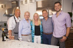 New England Living TV: Roof Deck Dinner Party in the Seaport