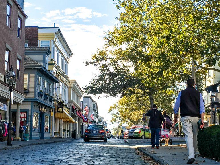 thames street_cobblestones_credit Discover Newport