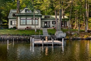 On the Water: Maine Lake House