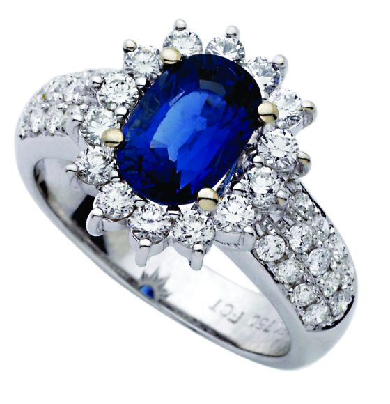 Place Sapphire Ring