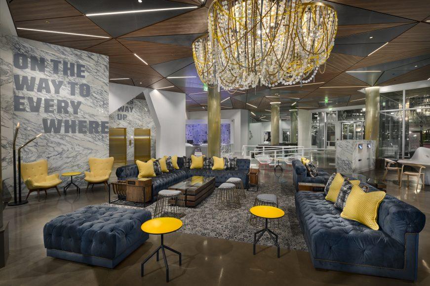 Envoy Hotel lobby