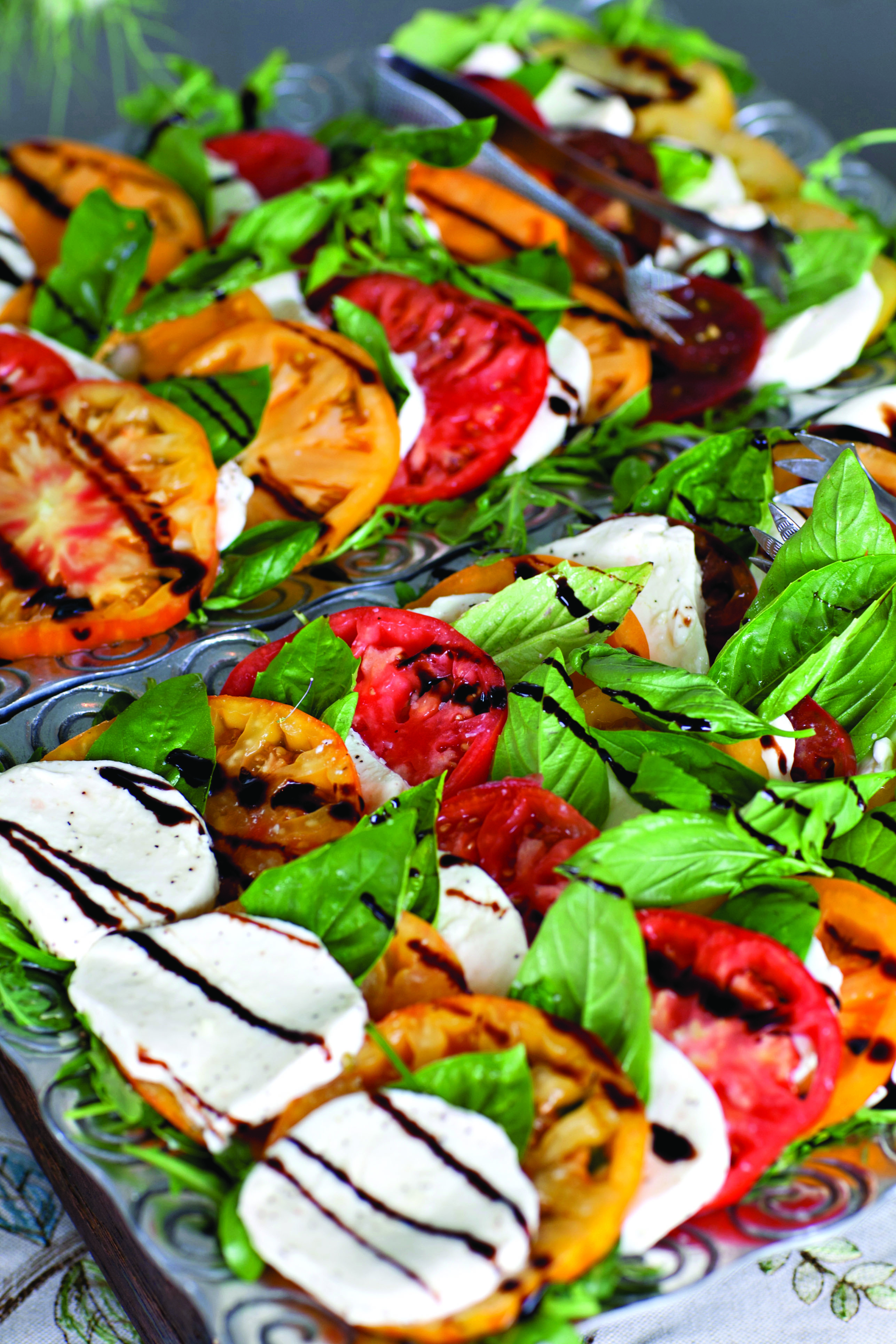 Heirloom Caprese Salad - RMC