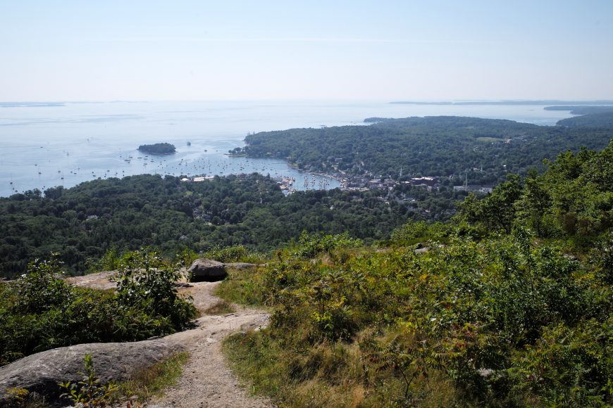 Camden Viewed from Mount Battie