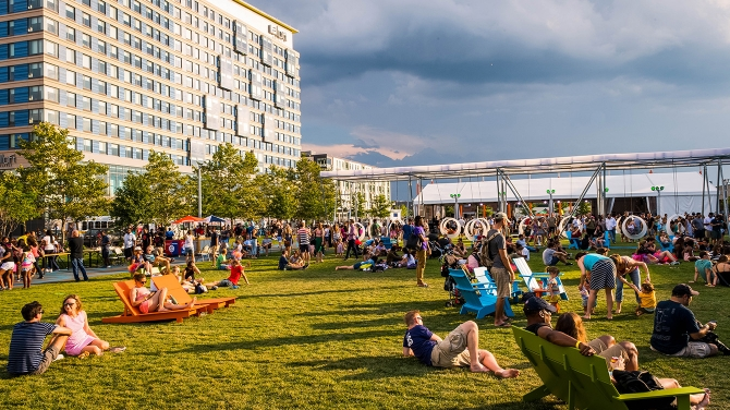 The Lawn on D, Boston Seaport