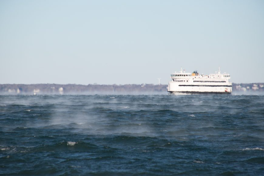 East Chop Ferry Smoke