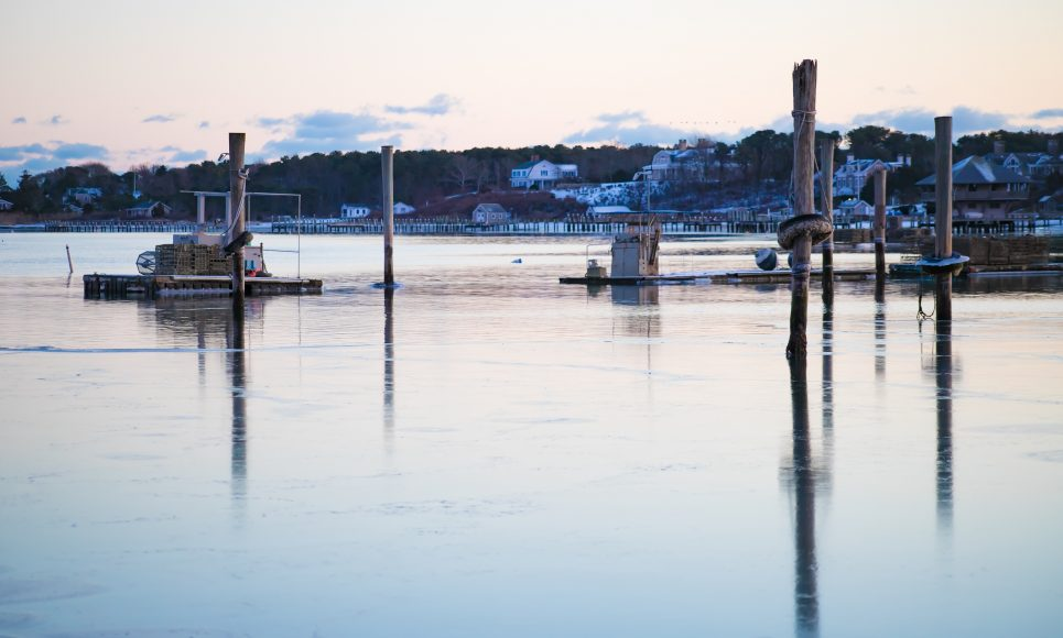 Edgartown Harbor Ice