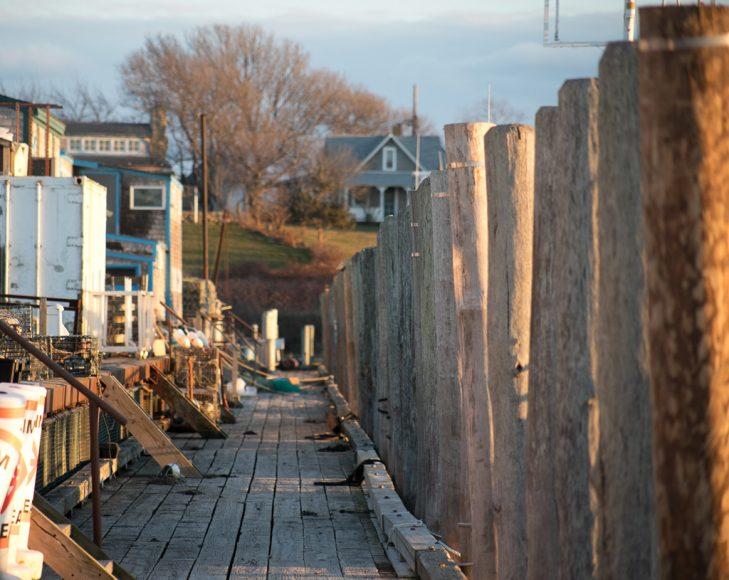 Menemsha docks December