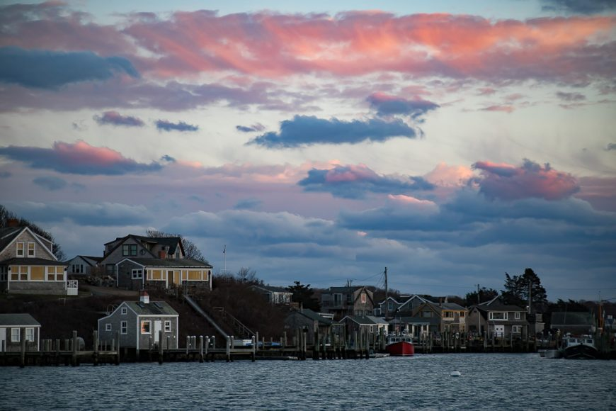 Menemsha sunset in December