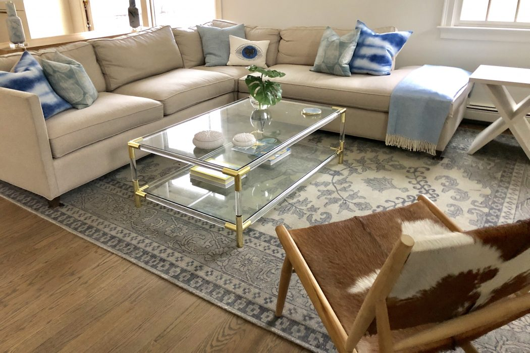 amusing new england contemporary living room   Traditional Farmhouse Style Meets Modern Flair   New ...