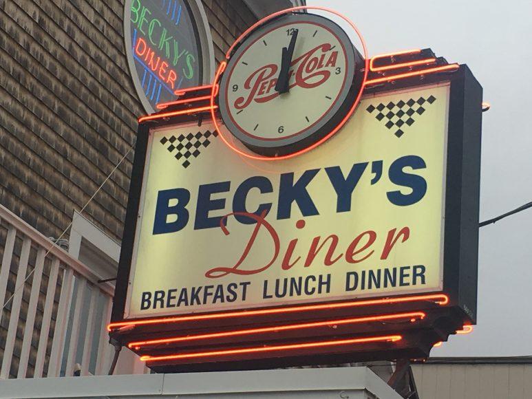 Beckys sign