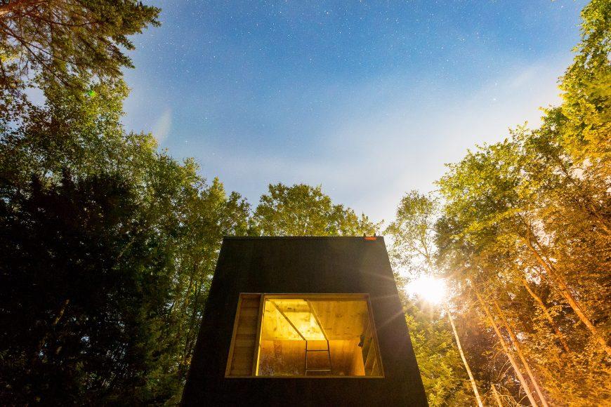 Bearwalk Cabin Exterior