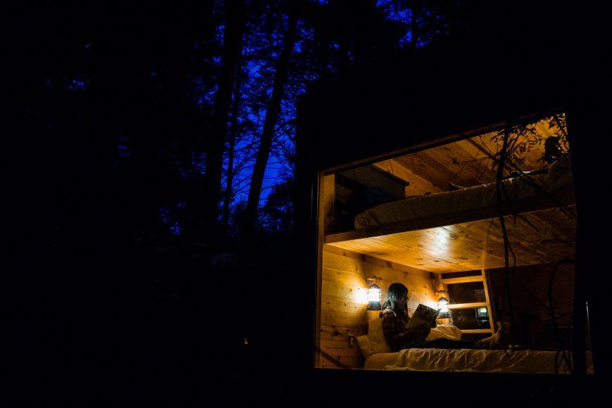 Getaway Boston Outpost - Night Exterior