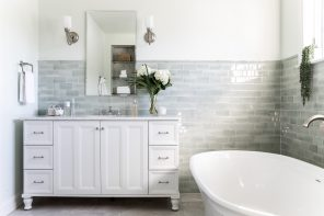 Style File: Master Bathroom Redo in Greater Boston