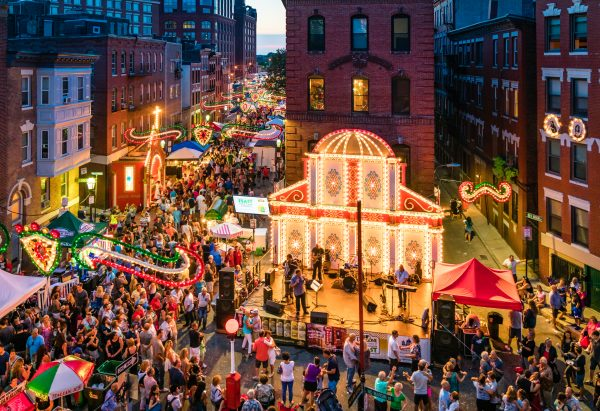 Day Trip: Boston's North End | St. Anthony's Feast | Image by MattConti.com