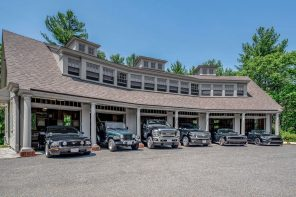 Turbocharged Elegance: High-Capacity Garages