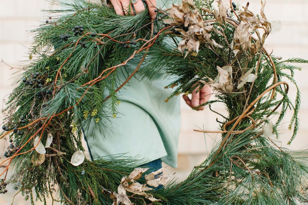 Ring In The Season With Holiday Wreaths