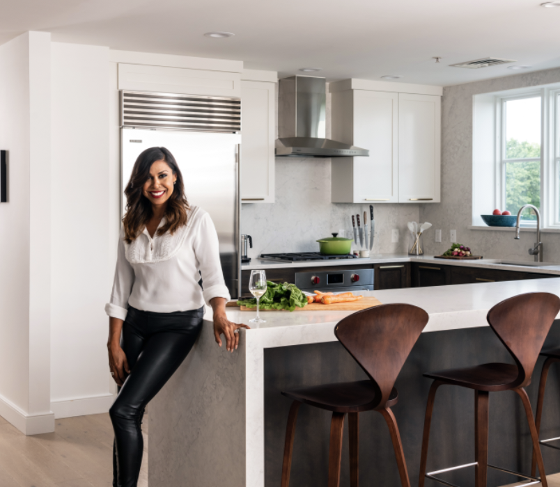 NO PLACE LIKE HOME: STAR DESIGNER TANIYA NAYAK GIVES HER OWN BOSTON INTERIOR A FRESH LOOK.